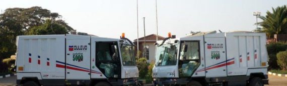 Harare Council Took Delivery Of 2 Dulevo Evolution Sweepers